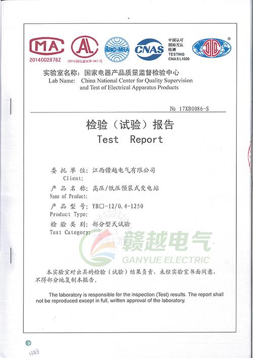 检验(试验)报告5