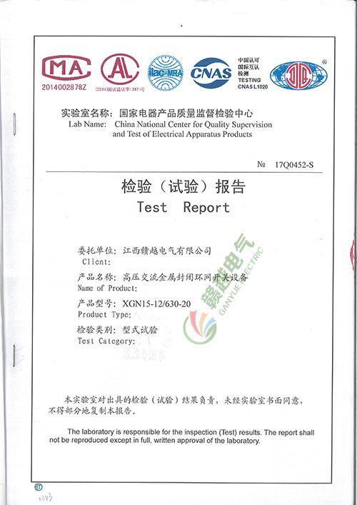 检验(试验)报告8